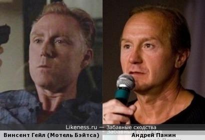 Винсент Гейл похож на Андрея Панина