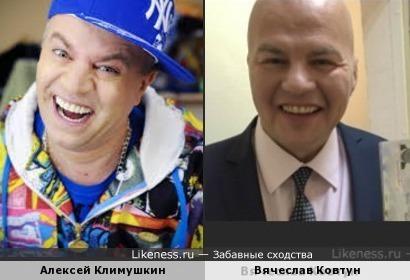 Вячеслав Ковтун похож на Сильвестра Андреевичя