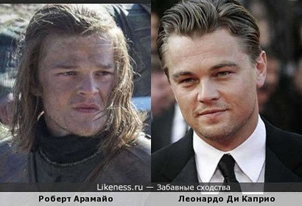 Молодой Нед Старк похож на Леонардо Ди Каприо