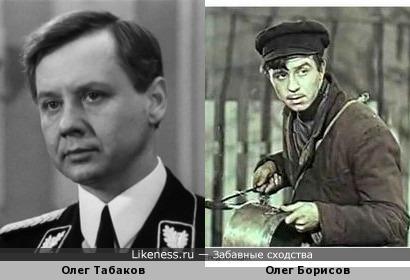 """Олег Табаков и Олег Борисов (к/ф """"Мать"""")"""