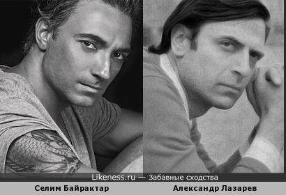 Александра Лазарева иногда неуловимо напоминает Селим Байрактар
