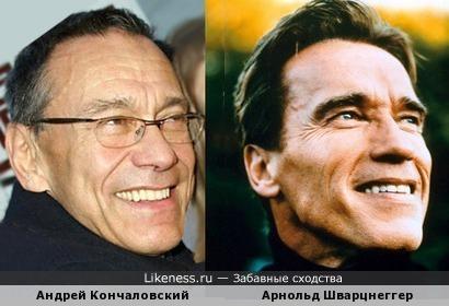 Кончаловский и Шварцнеггер. Что-то общее...