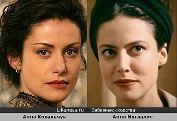 Две Анны - Ковальчук и Муглалис