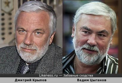 На известного телеведущего похож муж Вики Цыгановой