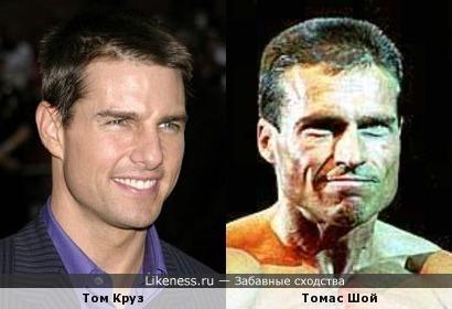 Том Круз похож на Томаса Шоя