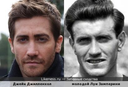 Джейк Джилленхол похож на молодого Луи Замперини