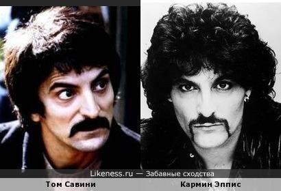 Том Савини похож на Кармина Эпписа