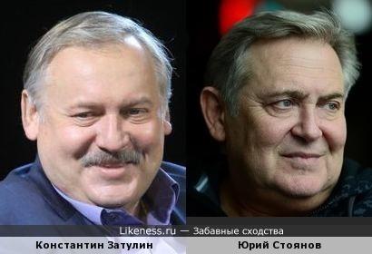Константин Затулин похож на Юрия Стоянова