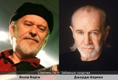 Янош Варга похож на Джорджа Карлина