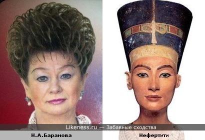 Нина Баранова-современная Нефертити...