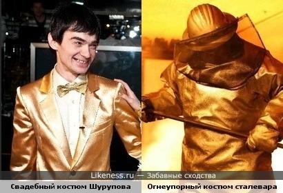 Удивительный Венгржановский на свадьбе напоминал сталевара в горячем цеху...