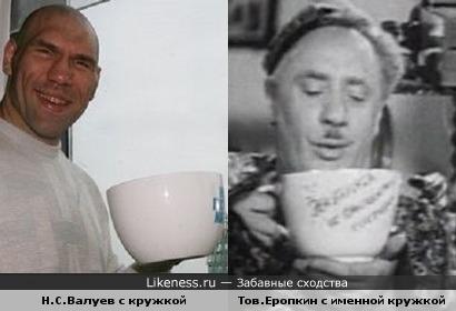"""Валуев,своим мощным сосудом,напомнил товарища Еропкина из к/ф """"Близнецы""""..."""