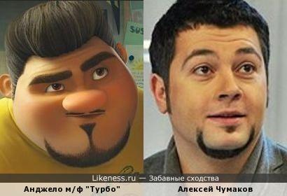 Анджело и Сергей Чумаков.
