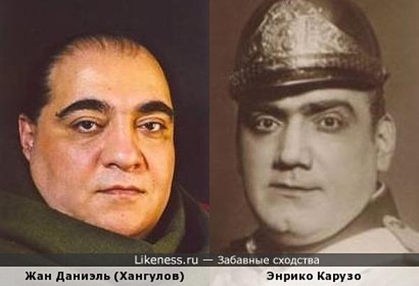 Российский актер и великий итальянский оперный певец.