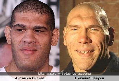 Бразмльский боец смешанных единоборств и Российский боксер.
