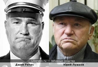 Глава пожарного отделения в Нью-Йорке и бывший мэр Москвы.