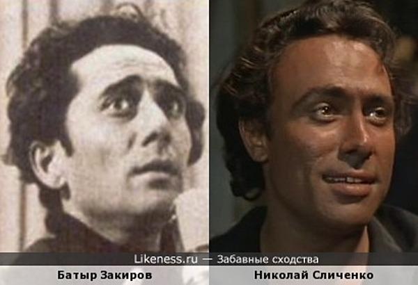 Батыр Закиров и Николай Сличенко