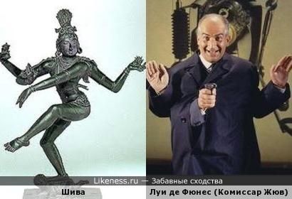 Шива и комиссар Жюв.