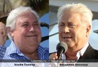 Австралийский миллиардер,строитель копии Титаника и Российский юморист.