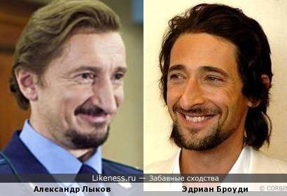 Эдриан Броуди и Александр Лыков.