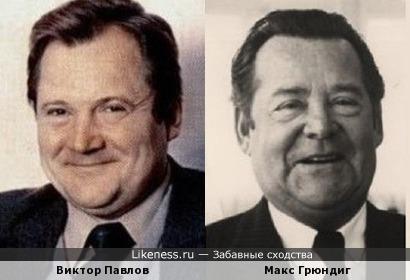Советский актер и основатель компании Grundig