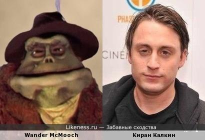 """Киран Калкин похож на персонаж из """"Скалы Фрэглов"""""""