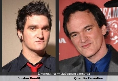 Джордан Пандик (New Found Glory) похож на Квентина Тарантино