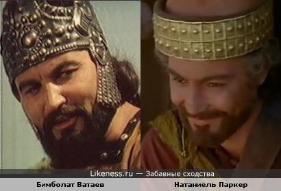 Бимболат Ватаев и Натаниель Паркер