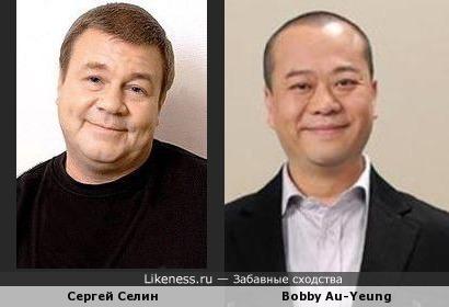 Китаец похож на Сергея Селина