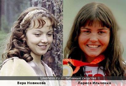 Вера Новикова и Лариса Ильченко