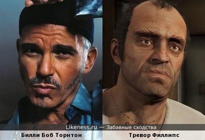 Билли из Плохой Санта похож на Тревор из GTA 5