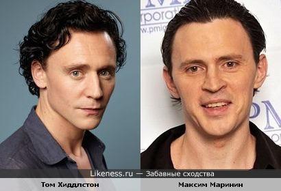 Не скажу что схожесть на 100%, но Максим приходится Тому как старший брат