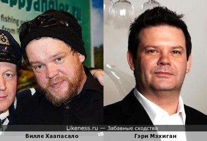 Горячий финский парень Вилле и австралийский шеф-повар Гэри