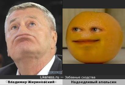 -Эй, Жирик! - Ну что, что, что? - Апельсин через плечо! ХЕЕЕЕЕ! xD