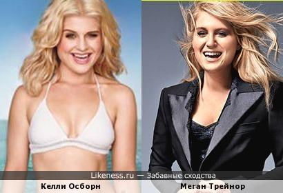 Молодая певица Меган Трейнор похожа на Келли Осборн