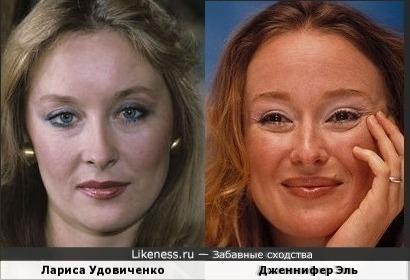 Лариса Удовиченко и Дженнифер Эль (за вдохновение благодарю dbrf_1979 - посвящается вам)