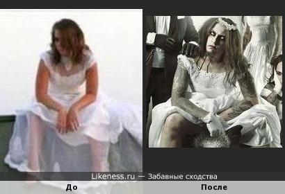 Вот так вот бросишь свою невесту - будет она у тебя потом с бородой, татуировками и петь в дуэте Lindemann. Что будешь тогда делать?!