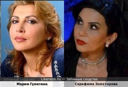 Мария Гулегина и Серафима Золотарева (за фото Марии от всей души благодарю Lyutika)
