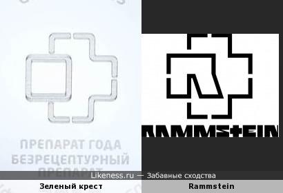 """Логотип фармацевтической премии """"Зеленый крест"""