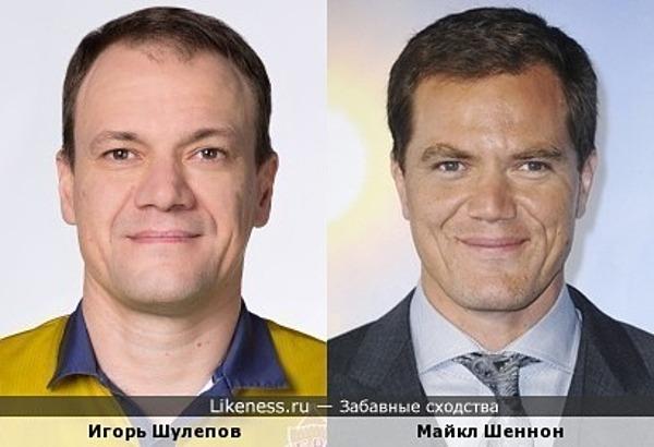 Игорь Шулепов похож на Майкла Шеннона