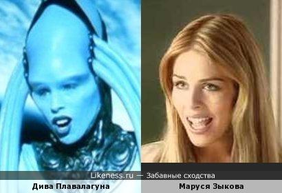 Маруся мне всегда напоминала кое-кого :)