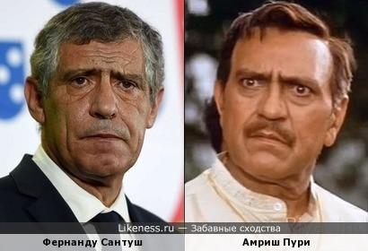 Тренер португальцев похож на индийского актера