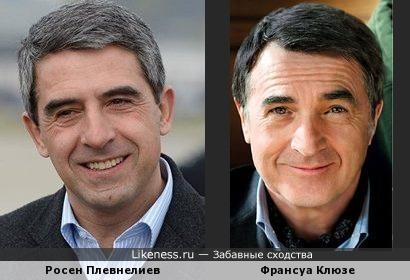 Президент Болгарии похож на актера Франсуа Клюзе