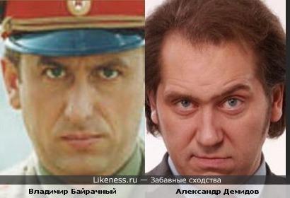 Сходство актеров