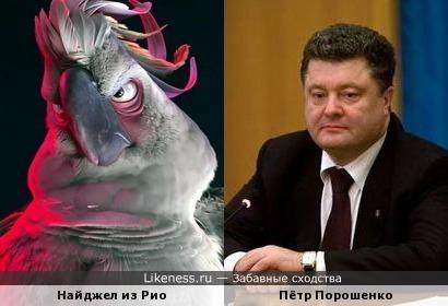 Пётр Порошенко напомнил мне Найджела