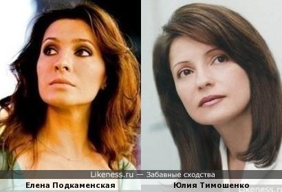 Тимошенко напомнили мне Подкаменскую