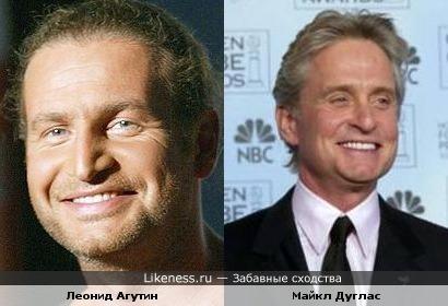 Леонид Агутин похож на Майкла Дугласа