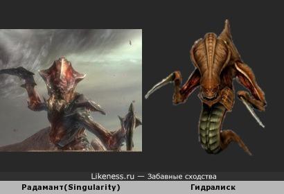 Гидралиск-предок/потомок босса из Singularity