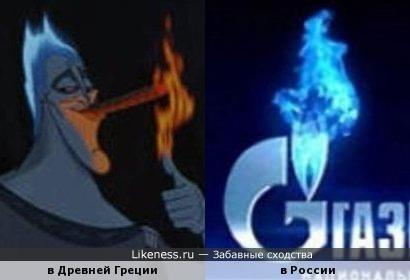 """Реклама """"Газпрома"""""""