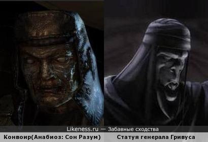 Красноармеец из игры Анабиоз: Сон Разума похож на статую генерала Гривуса